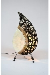 Table Top Lamps- Leaf & Bamboo