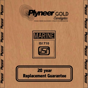 Plyneer Gold B.W.P Pinewood Waterproof Block Board *