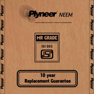Plyneer Neem M.R. 10 Year Replacement Guarantee*