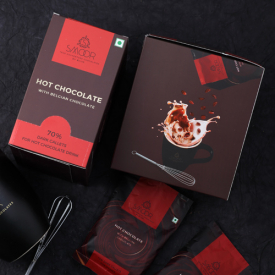Buy 70% Dark Hot Chocolate Callet Box Online