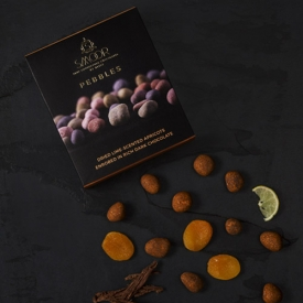Buy Lime-Scented Apricot Chocolate Pebbles Online