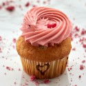 Strawberry Surprise Cup Cake